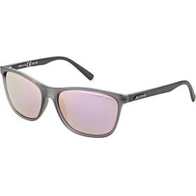 Alpina Jaida Cykelbriller, grey transparent matt/rose-gold mirror
